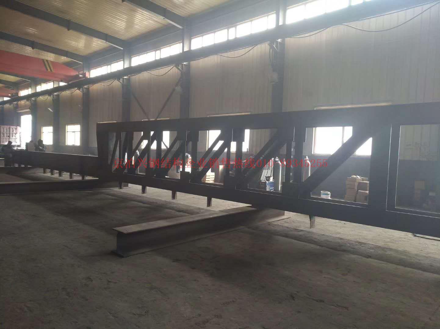 钢结构加工1车间