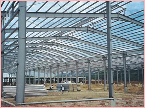钢结构工程中钢柱的使用