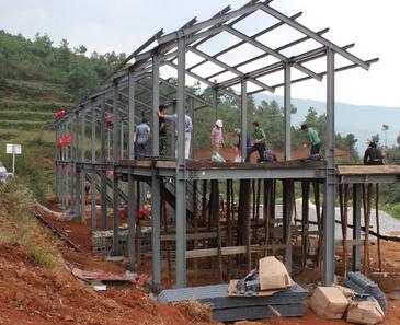 钢结构住宅应用市场前景广阔
