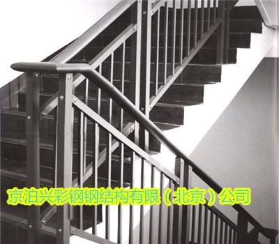 钢结构告诉你为什么选择钢结构楼梯