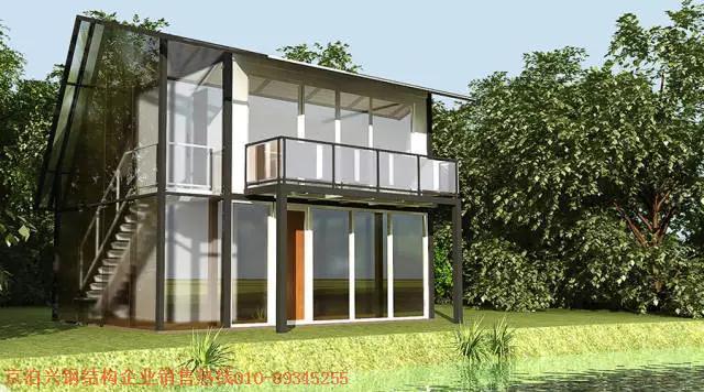 钢结构房屋将更多应用于休闲度假