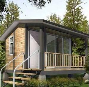 欧美钢结构房屋建设过程