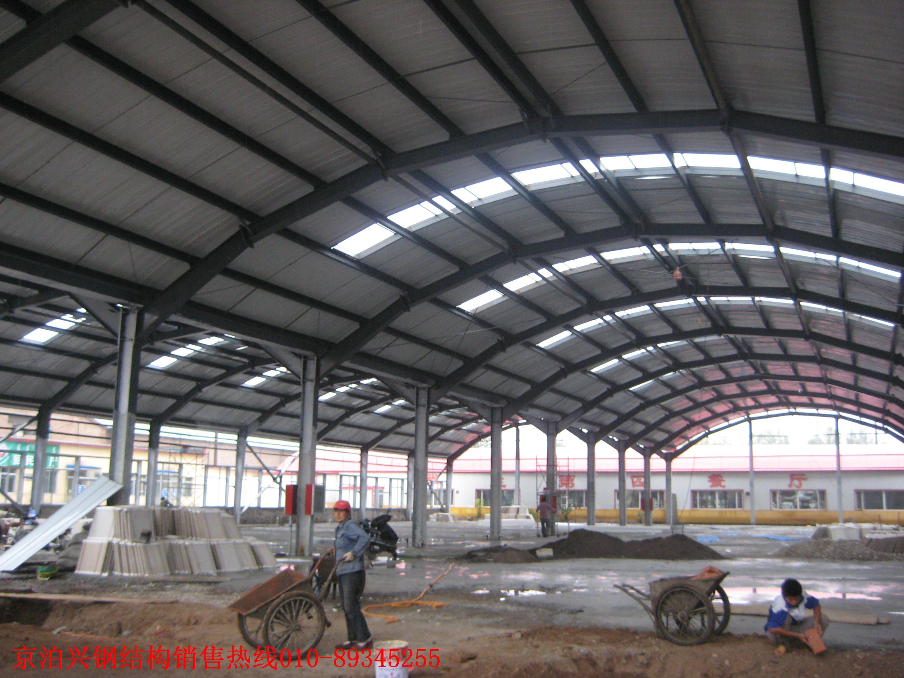 钢结构厂房施工介绍