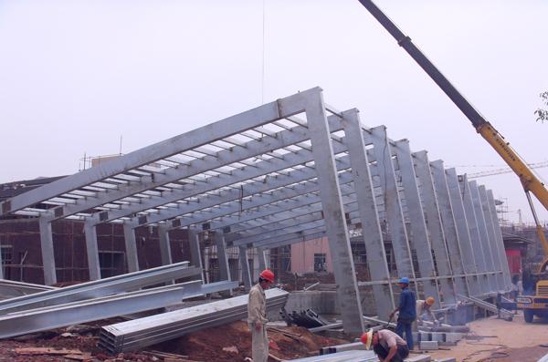 钢结构门式框架的详细介绍及流行起因