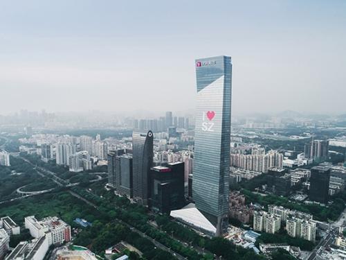 国内第一高全钢结构摩天大楼——汉京金融中心