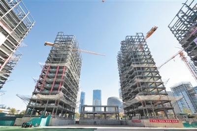 【行业新闻】北京冬奥村主体钢结构提前封顶