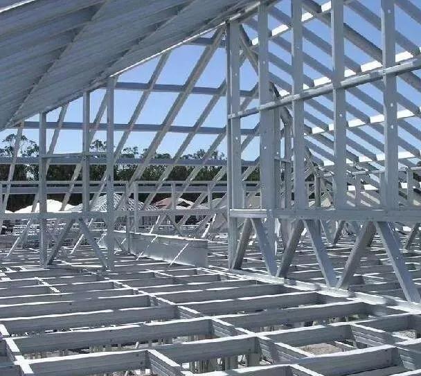 多层钢结构厂房结构组合框架类型