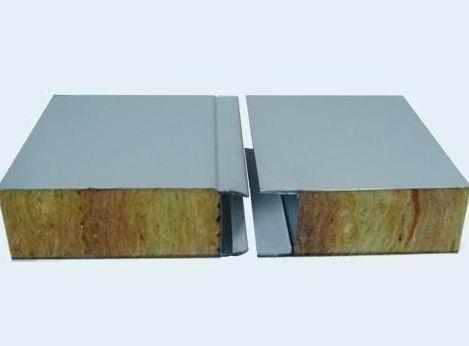岩棉彩钢板的安装使用