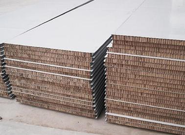 玻镁+纸蜂窝净化板
