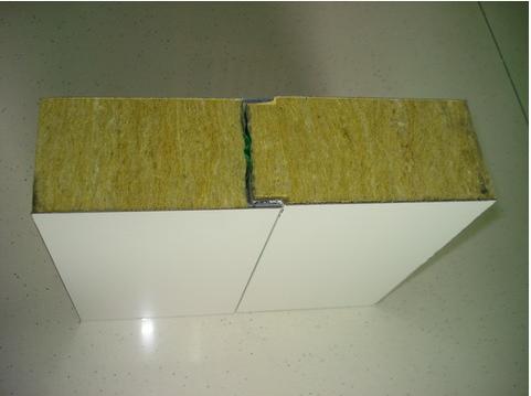 岩棉夹心彩钢墙面板