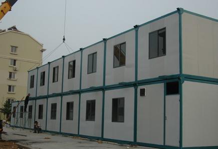 双层集装箱板房