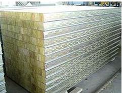 岩棉冲孔吸音彩钢板