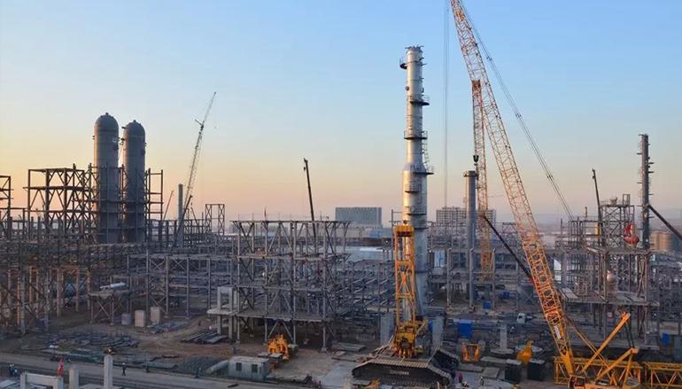 2009年宁夏银川宁煤烯烃皮带廊工