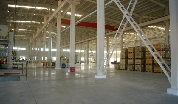 航天振邦钢结构厂房 钢结构厂房 京泊兴彩钢