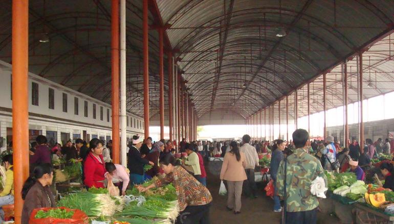 黄港集贸市场改造工程