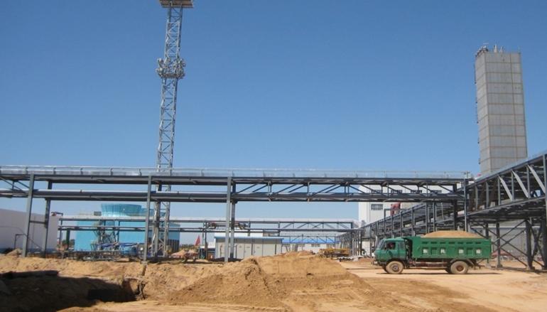 河南鹤壁50万吨化肥项目