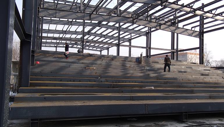 钢构阶梯教室工程